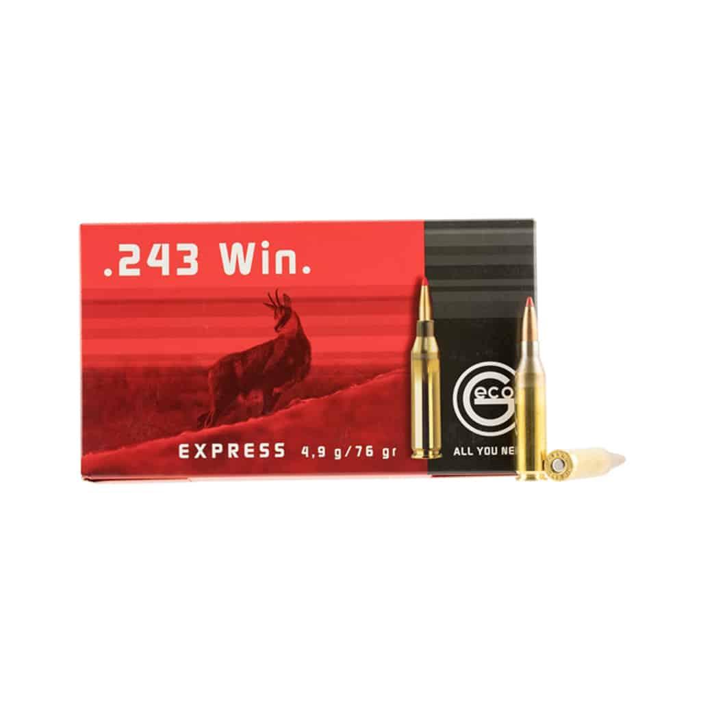 Karabinski Metak GECO 243 Win.EXPRESS 4.9g /75gr-4303