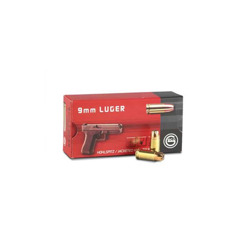 Pištoljski Metak GECO 9mm JHP 7.5g/115gr šuplje zrno-4318