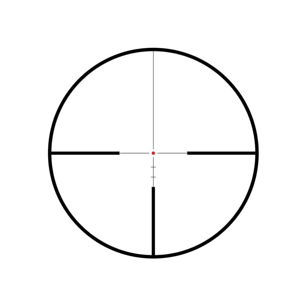 Red Dot optika HAWKE Endurance 30 WA 2.5-10x50 LR Dot 8x Reticle 16320-4663