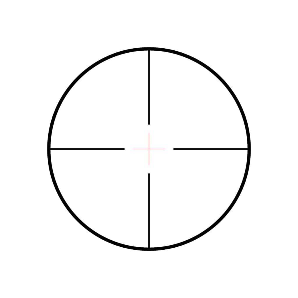 Optika HAWKE Vantage IR 3-9x40 30/30 Centre Cross IR Reticle 14220-4658