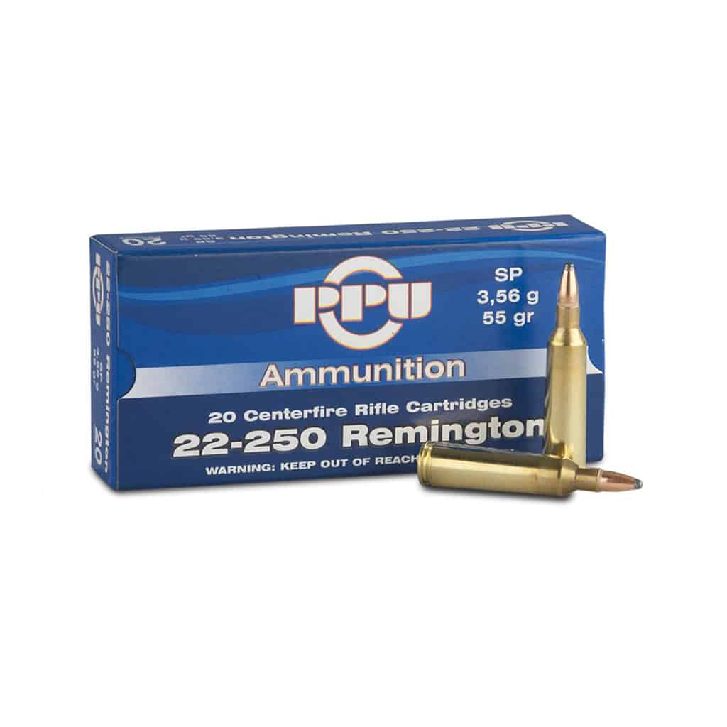 Karabinski Metak PPU 22-250 REMINGTON-00299