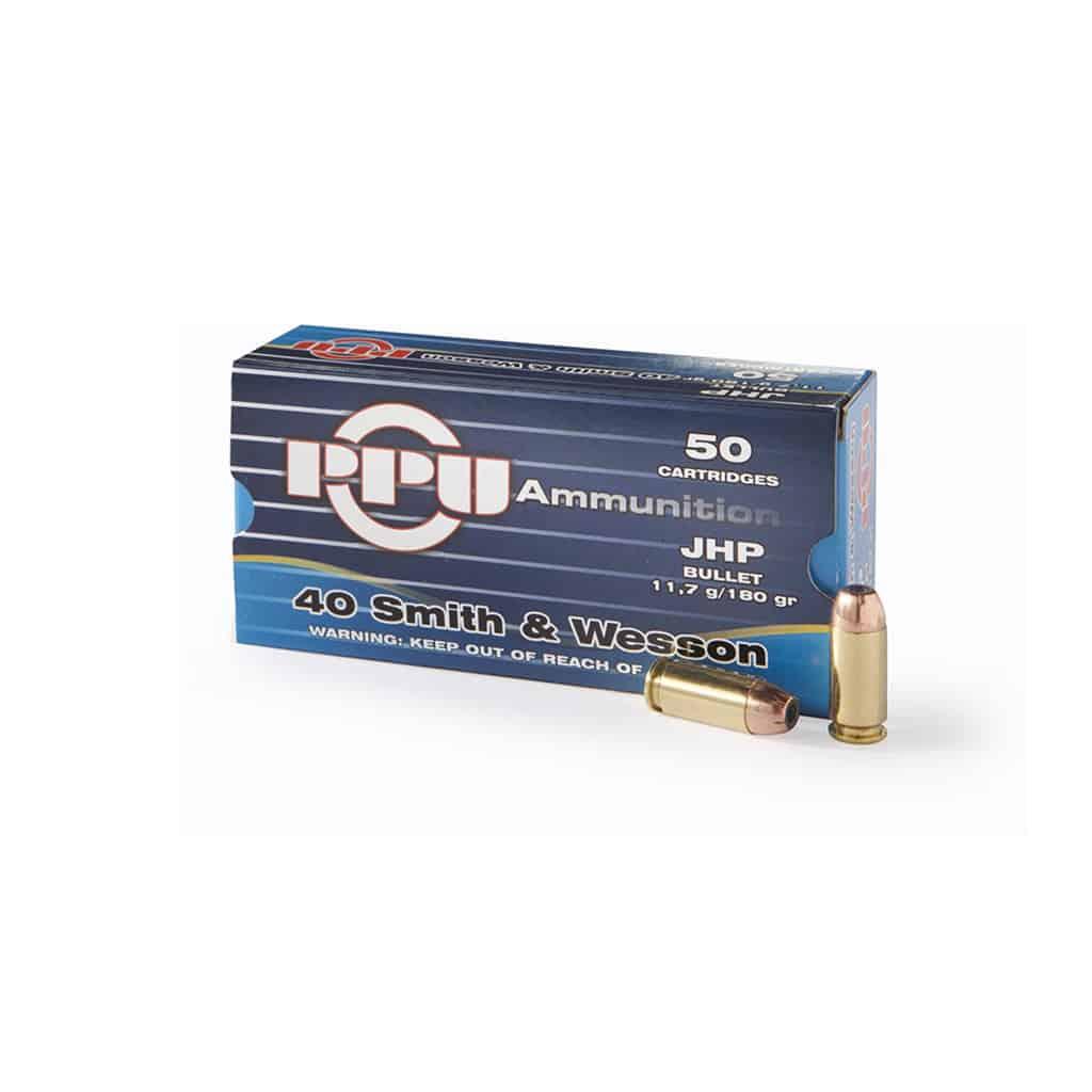 Pištoljski Metak PPU 40 SMITH WESSON-00338