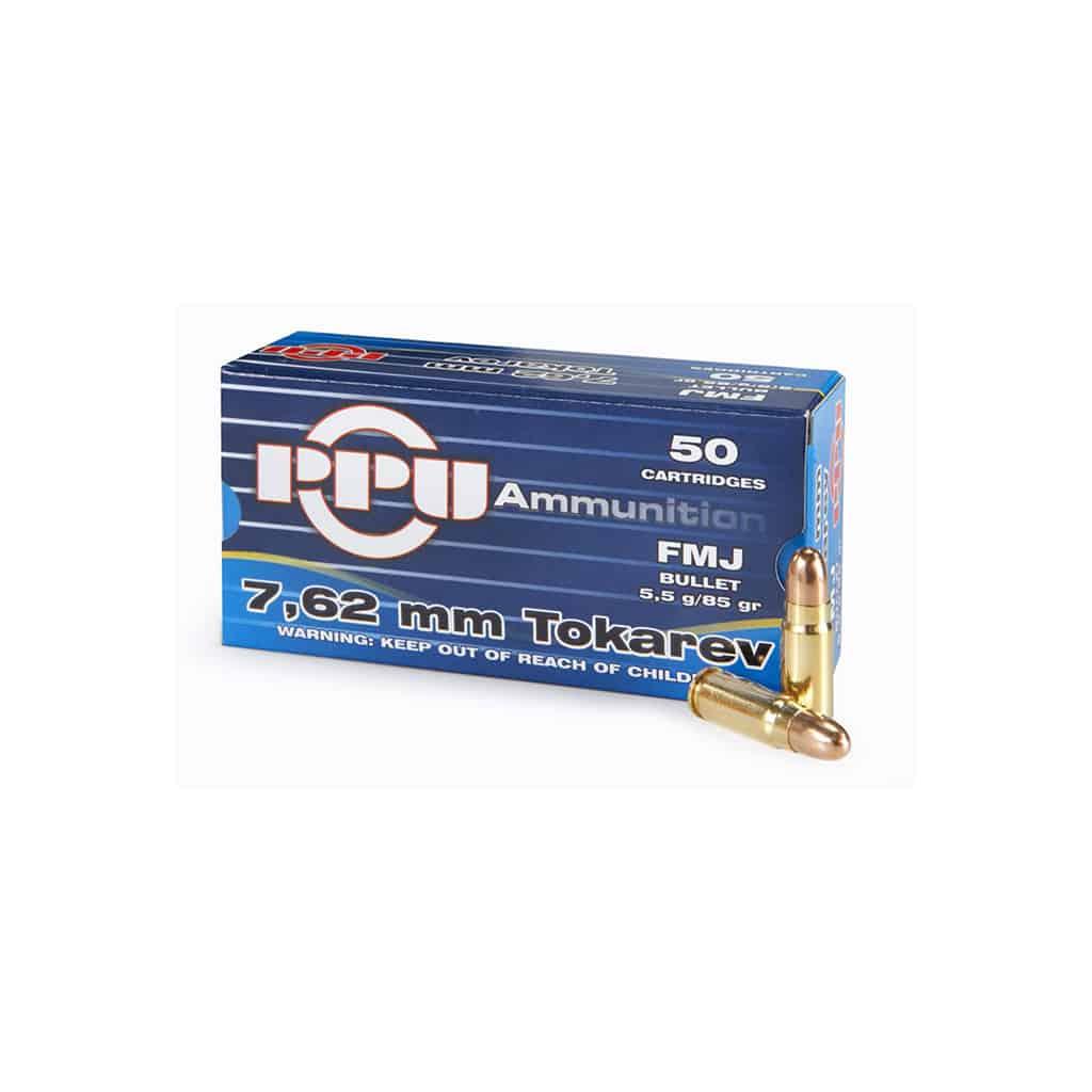 Pištoljski Metak PPU 7.62TT-00332