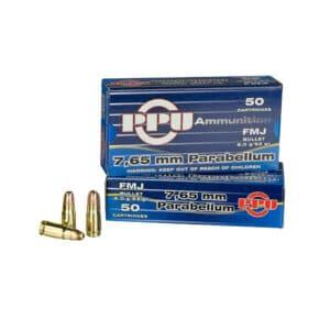 Pištoljski Metak PPU 7.65 (32 AUTO)-00331