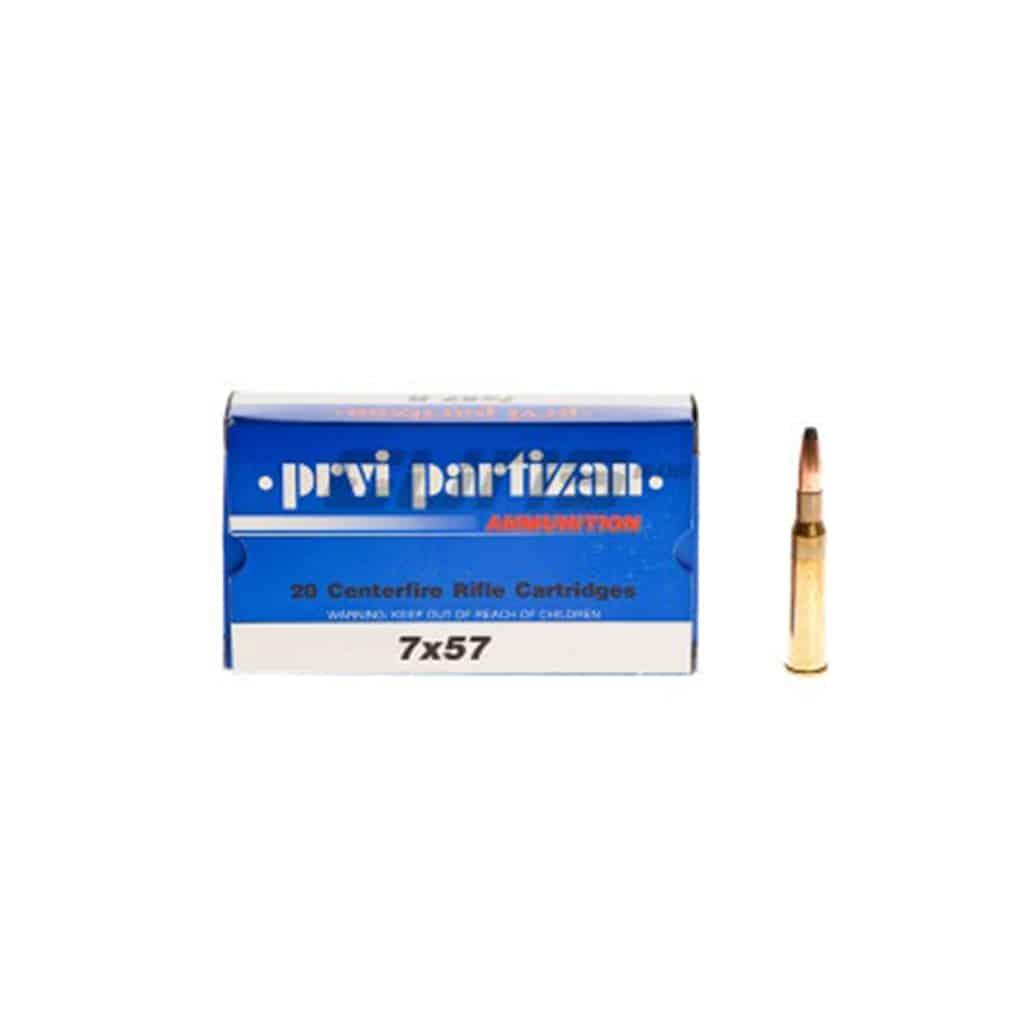 Karabinski Metak PPU 7X57-00304