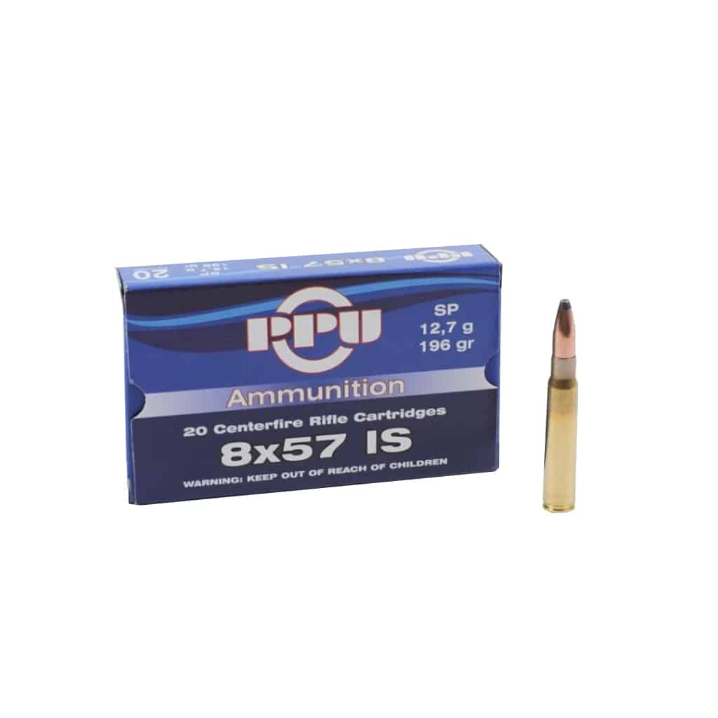Karabinski Metak PPU 8X57 IS SP 9.0g i 12.7g-00314