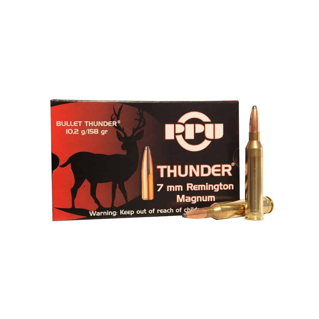 Karabinski Metak PPU GROM 7mm REM.MAGNUM 10.2g-00297