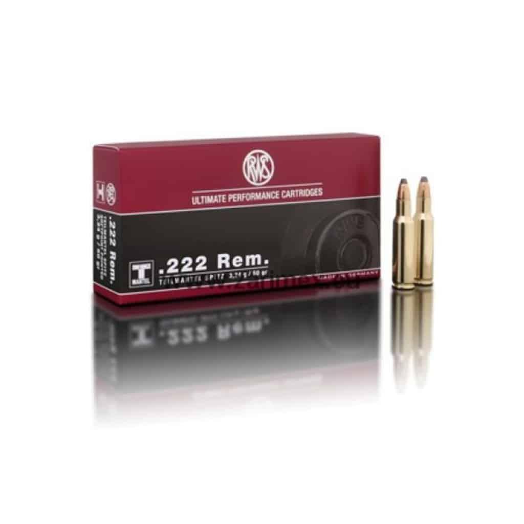 Karabinski Metak RWS 222 REM TM 3.24g-00230