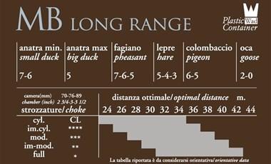Lovački patron Baschieri&Pellagri MB LONG RANGE-3443