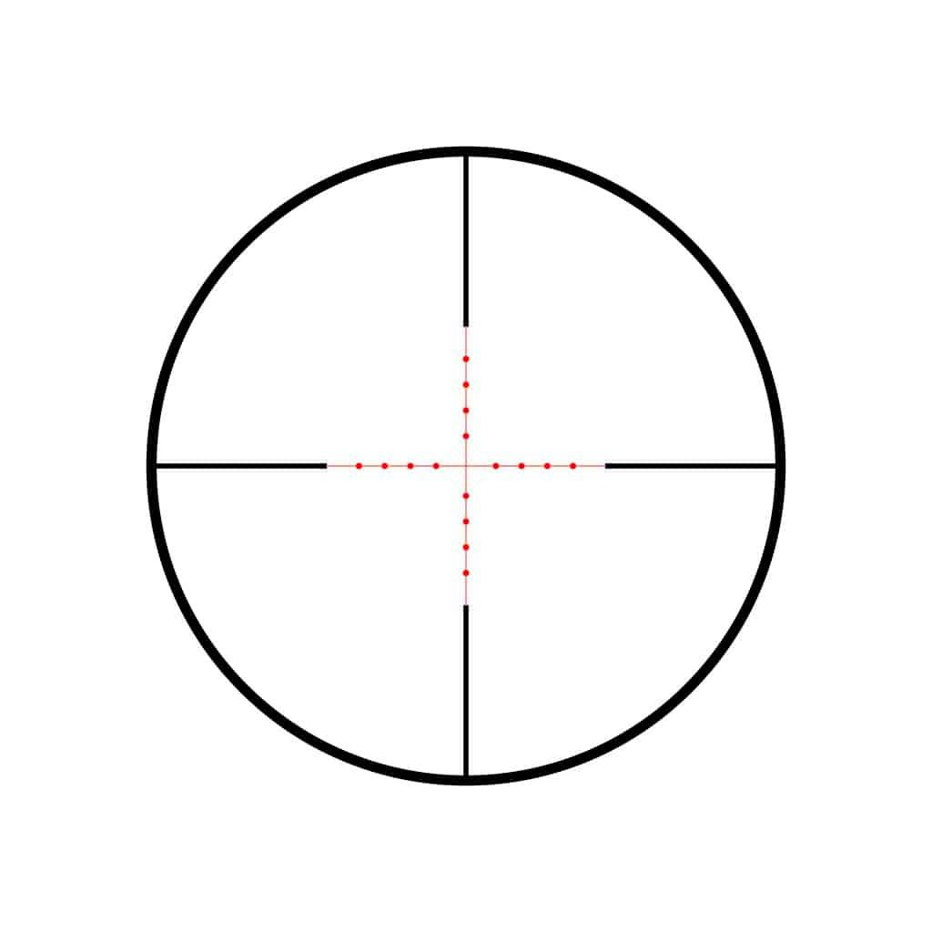 Optika HAWKE Vantage IR 3-9x40 Mil Dot IR Reticle 14221-11390