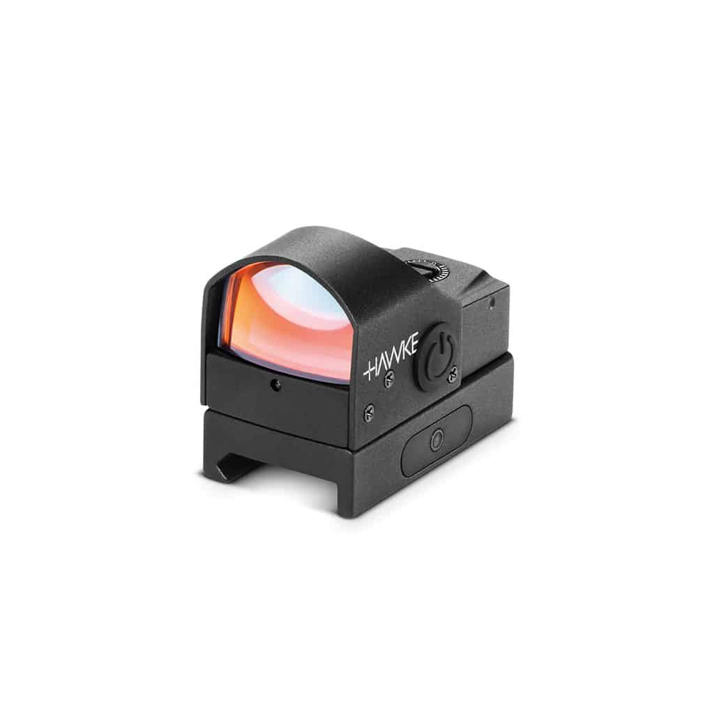 Red Dot optika HAWKE Reflex Sight 'Auto Brightness' Weaver Rail (5moa) 12133-11399