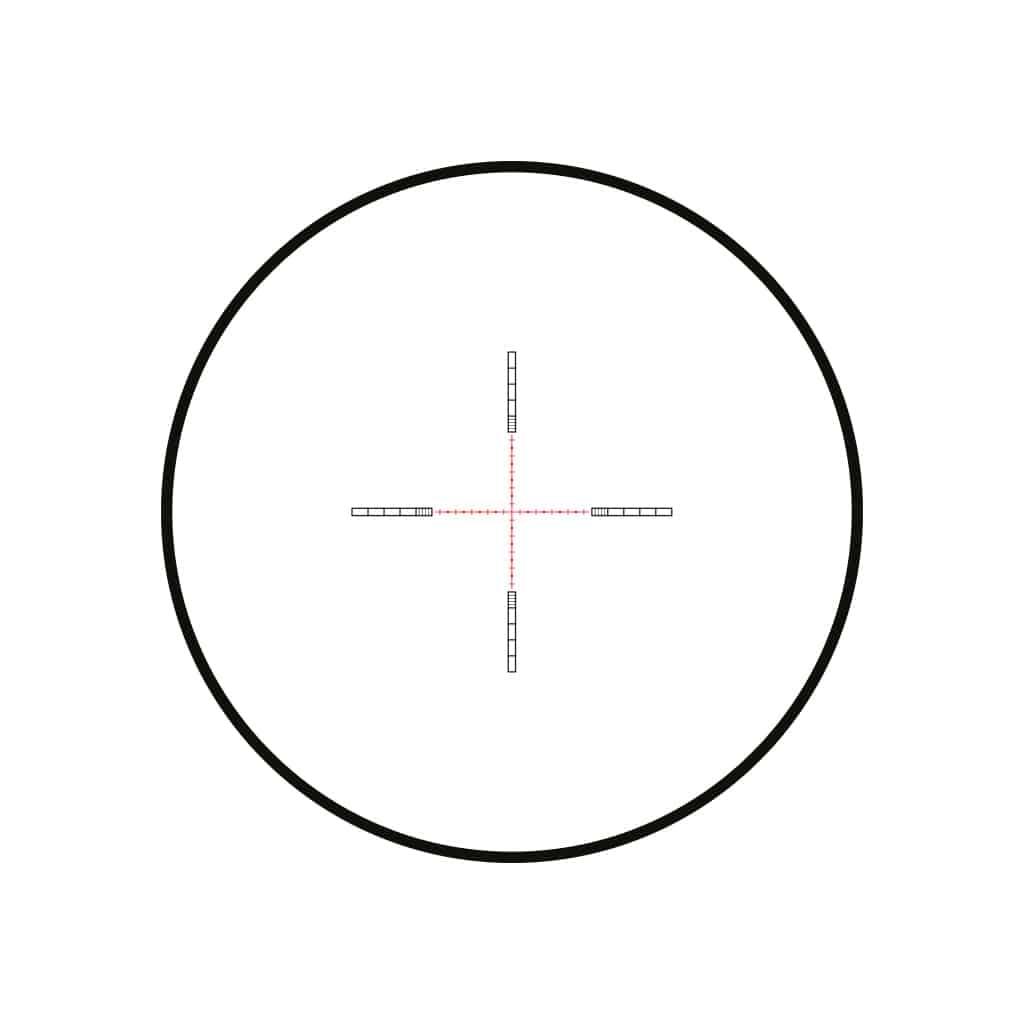Optika HAWKE Vantage 30 WA FFP 6-24x50 Half Mil Dot IR Reticle 14304-11389