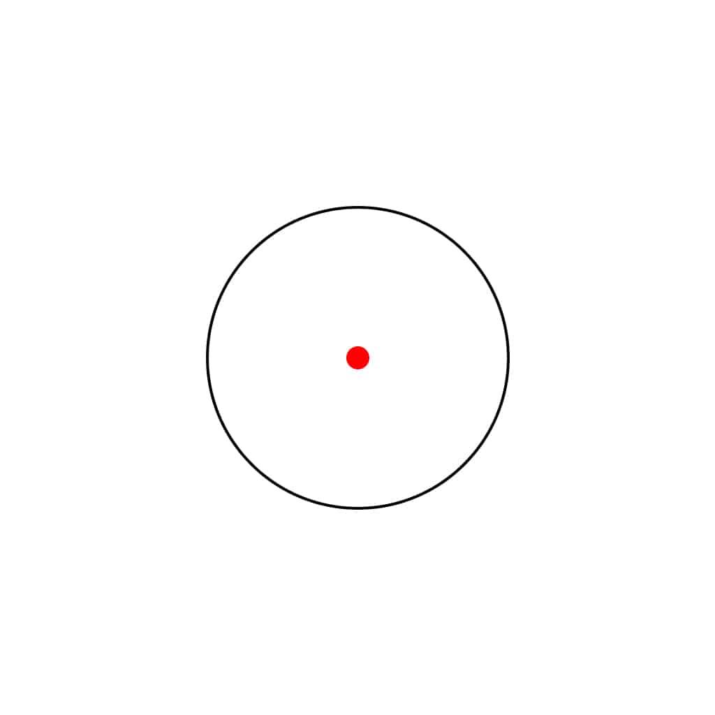 Red Dot optika STOEGER 1X30 sa nosačima 11mm-5201