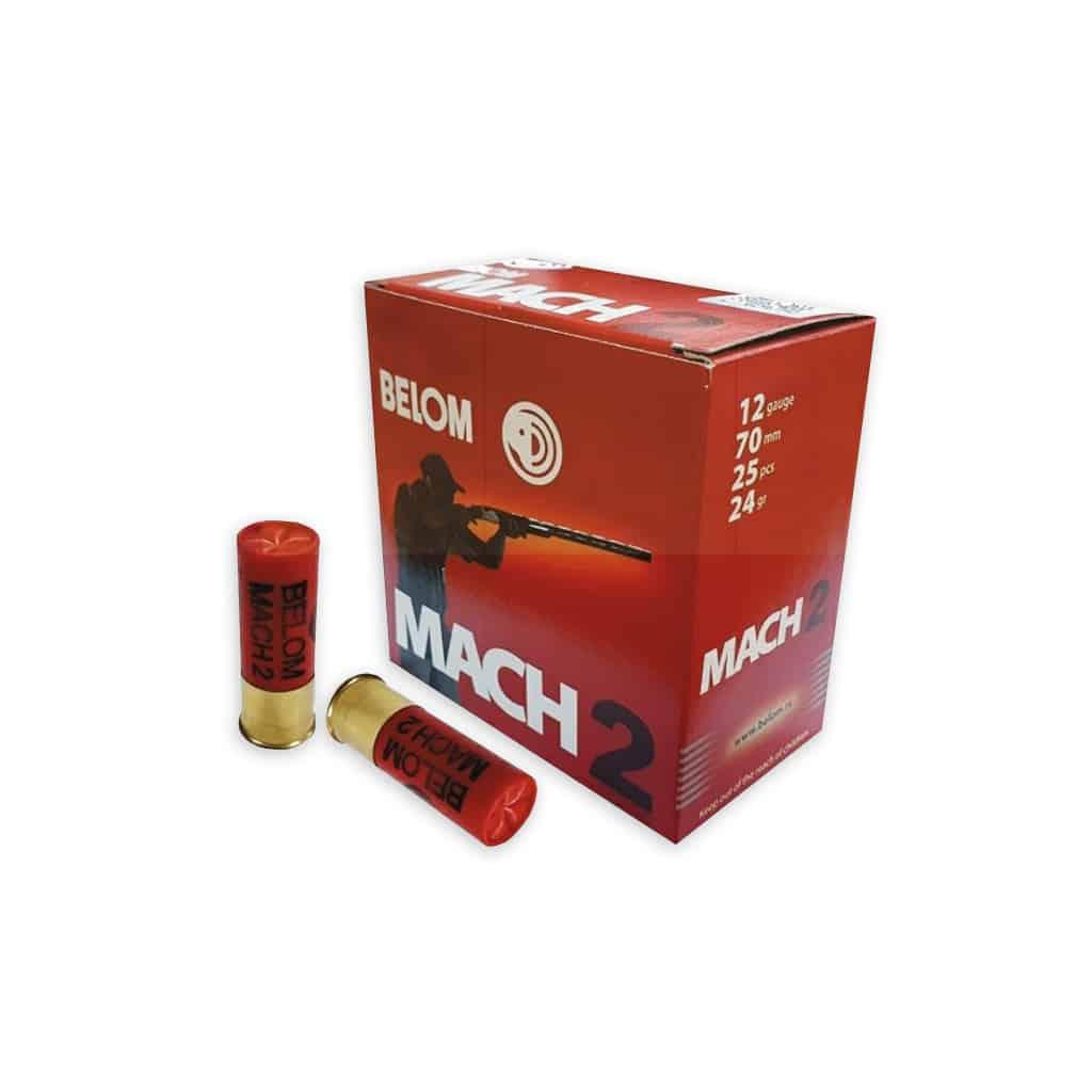 Lovački patroni Belom Trap MACH 2 12/70 f 2.4mm 24 gr-5121